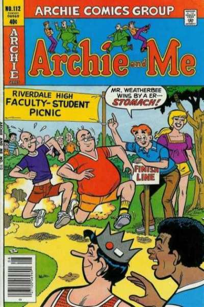 Archie and Me #112 Comic Books - Covers, Scans, Photos  in Archie and Me Comic Books - Covers, Scans, Gallery
