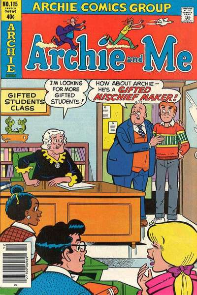 Archie and Me #115 Comic Books - Covers, Scans, Photos  in Archie and Me Comic Books - Covers, Scans, Gallery