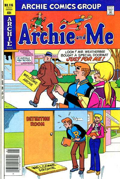 Archie and Me #116 Comic Books - Covers, Scans, Photos  in Archie and Me Comic Books - Covers, Scans, Gallery