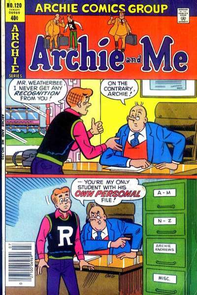 Archie and Me #120 Comic Books - Covers, Scans, Photos  in Archie and Me Comic Books - Covers, Scans, Gallery