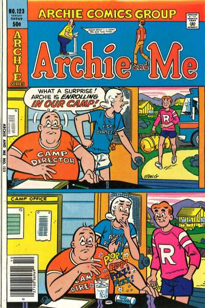Archie and Me #123 Comic Books - Covers, Scans, Photos  in Archie and Me Comic Books - Covers, Scans, Gallery