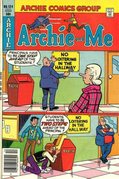 Archie and Me #124 Comic Books - Covers, Scans, Photos  in Archie and Me Comic Books - Covers, Scans, Gallery