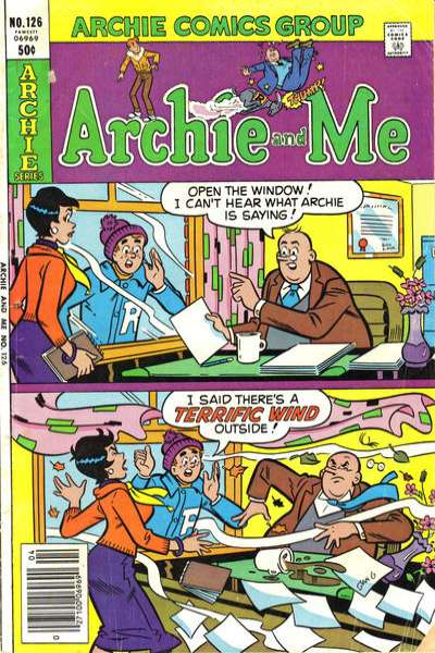 Archie and Me #126 comic books for sale