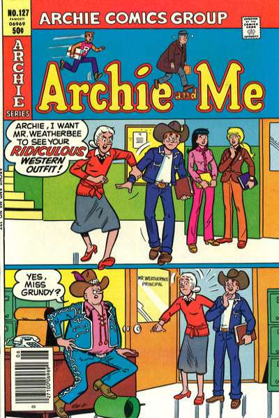 Archie and Me #127 Comic Books - Covers, Scans, Photos  in Archie and Me Comic Books - Covers, Scans, Gallery