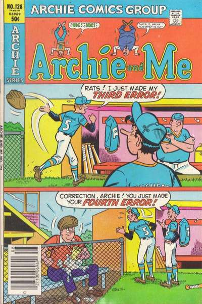 Archie and Me #128 Comic Books - Covers, Scans, Photos  in Archie and Me Comic Books - Covers, Scans, Gallery