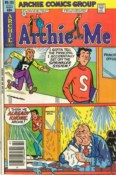 Archie and Me #132 Comic Books - Covers, Scans, Photos  in Archie and Me Comic Books - Covers, Scans, Gallery