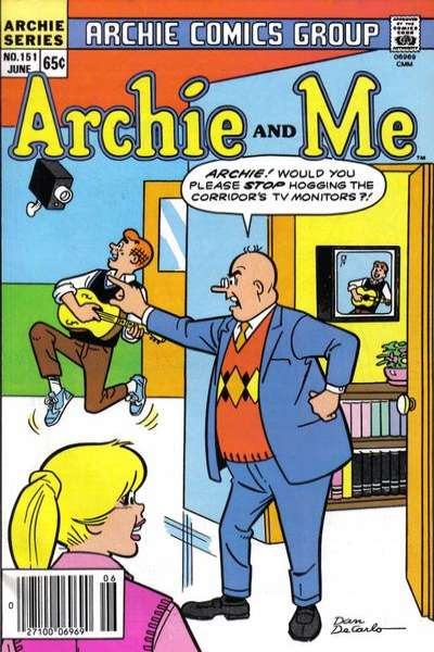 Archie and Me #151 comic books for sale