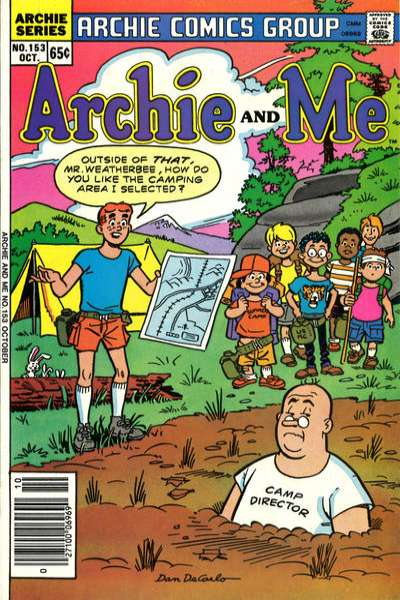 Archie and Me #153 comic books for sale
