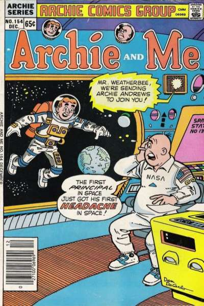 Archie and Me #154 comic books for sale