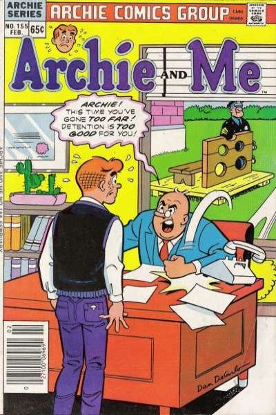 Archie and Me #155 comic books for sale