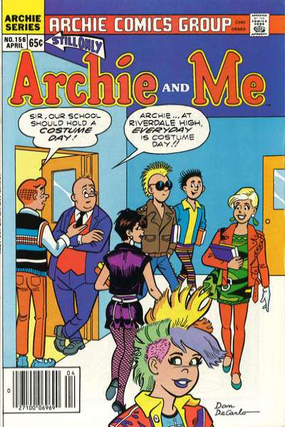 Archie and Me #156 comic books for sale