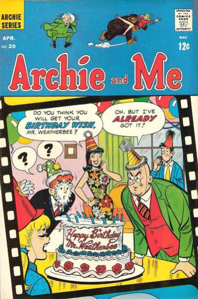 Archie and Me #20 comic books - cover scans photos Archie and Me #20 comic books - covers, picture gallery