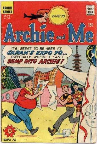 Archie and Me #37 comic books - cover scans photos Archie and Me #37 comic books - covers, picture gallery