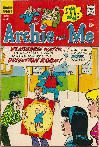 Archie and Me #41 comic books - cover scans photos Archie and Me #41 comic books - covers, picture gallery