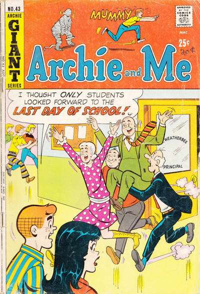 Archie and Me #43 comic books for sale