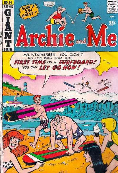 Archie and Me #44 Comic Books - Covers, Scans, Photos  in Archie and Me Comic Books - Covers, Scans, Gallery