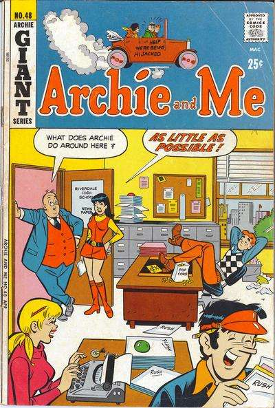 Archie and Me #48 Comic Books - Covers, Scans, Photos  in Archie and Me Comic Books - Covers, Scans, Gallery