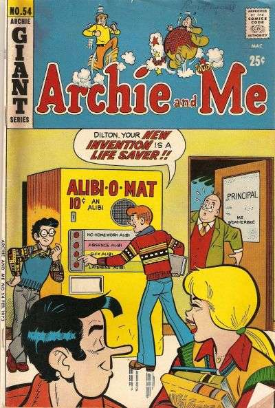 Archie and Me #54 Comic Books - Covers, Scans, Photos  in Archie and Me Comic Books - Covers, Scans, Gallery