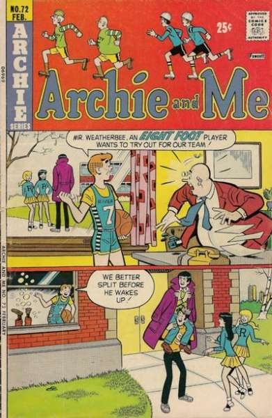 Archie and Me #72 Comic Books - Covers, Scans, Photos  in Archie and Me Comic Books - Covers, Scans, Gallery