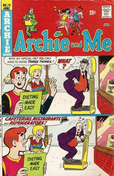 Archie and Me #74 Comic Books - Covers, Scans, Photos  in Archie and Me Comic Books - Covers, Scans, Gallery