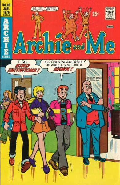 Archie and Me #80 comic books for sale
