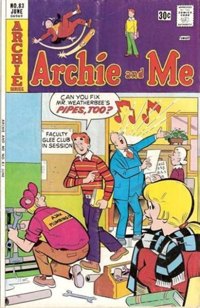 Archie and Me #83 Comic Books - Covers, Scans, Photos  in Archie and Me Comic Books - Covers, Scans, Gallery