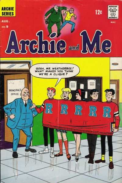 Archie and Me #9 Comic Books - Covers, Scans, Photos  in Archie and Me Comic Books - Covers, Scans, Gallery
