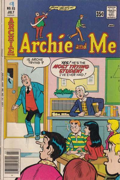 Archie and Me #93 Comic Books - Covers, Scans, Photos  in Archie and Me Comic Books - Covers, Scans, Gallery