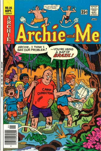 Archie and Me #95 Comic Books - Covers, Scans, Photos  in Archie and Me Comic Books - Covers, Scans, Gallery