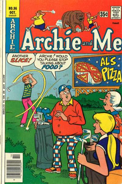 Archie and Me #96 comic books for sale