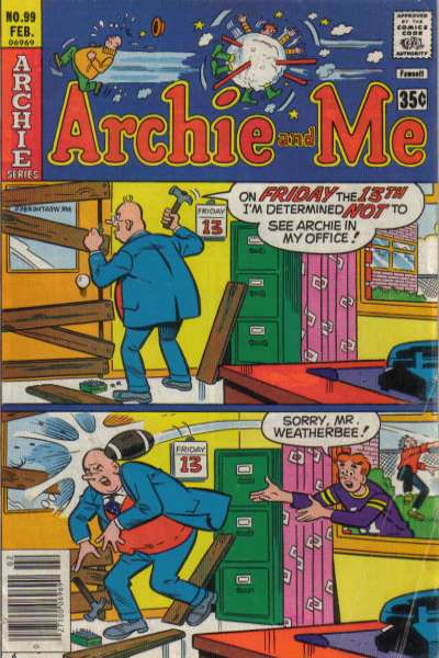 Archie and Me #99 Comic Books - Covers, Scans, Photos  in Archie and Me Comic Books - Covers, Scans, Gallery