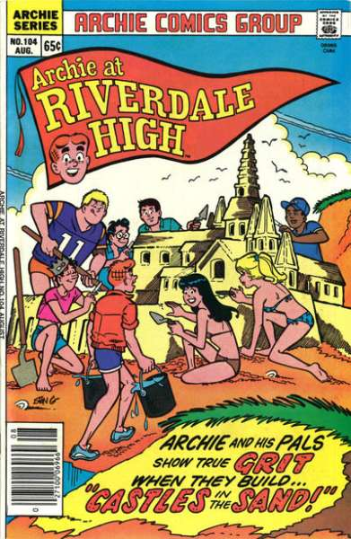 Archie at Riverdale High #104 comic books for sale