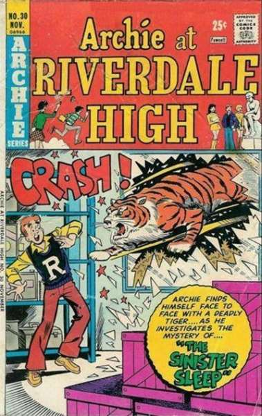 Archie at Riverdale High #30 comic books for sale