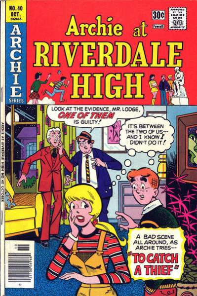 Archie at Riverdale High #40 comic books for sale
