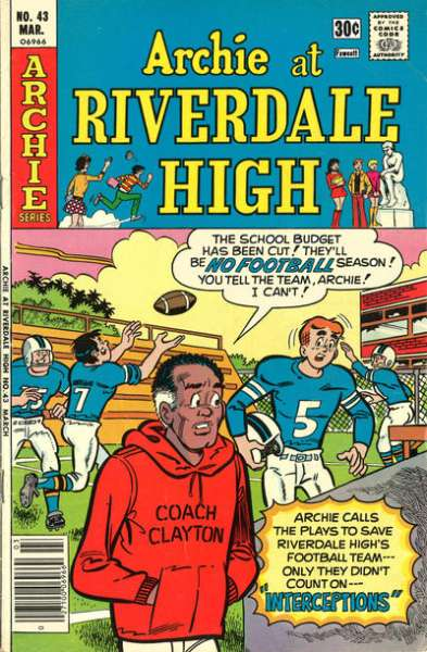 Archie at Riverdale High #43 comic books for sale
