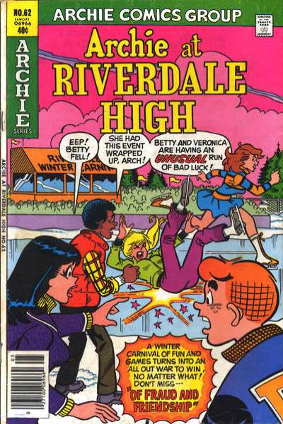 Archie at Riverdale High #62 comic books for sale