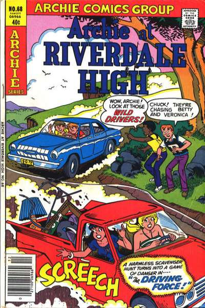 Archie at Riverdale High #68 comic books for sale