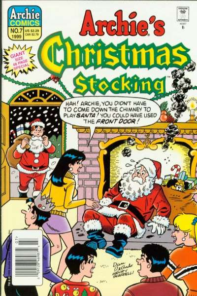Archie's Christmas Stocking #7 comic books for sale