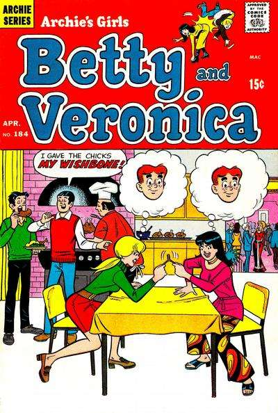 Archie's Girls: Betty and Veronica #184 comic books for sale