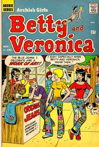 Archie's Girls: Betty and Veronica #191 Comic Books - Covers, Scans, Photos  in Archie's Girls: Betty and Veronica Comic Books - Covers, Scans, Gallery
