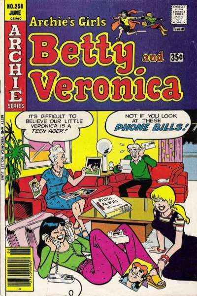 Archie's Girls: Betty and Veronica #258 Comic Books - Covers, Scans, Photos  in Archie's Girls: Betty and Veronica Comic Books - Covers, Scans, Gallery