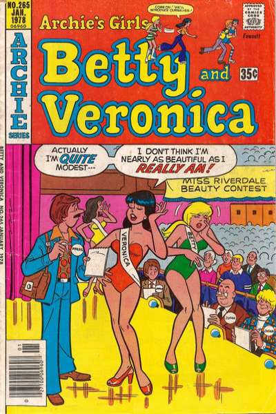Archie's Girls: Betty and Veronica #265 Comic Books - Covers, Scans, Photos  in Archie's Girls: Betty and Veronica Comic Books - Covers, Scans, Gallery