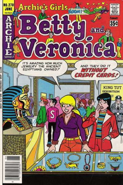 Archie's Girls: Betty and Veronica #270 comic books for sale