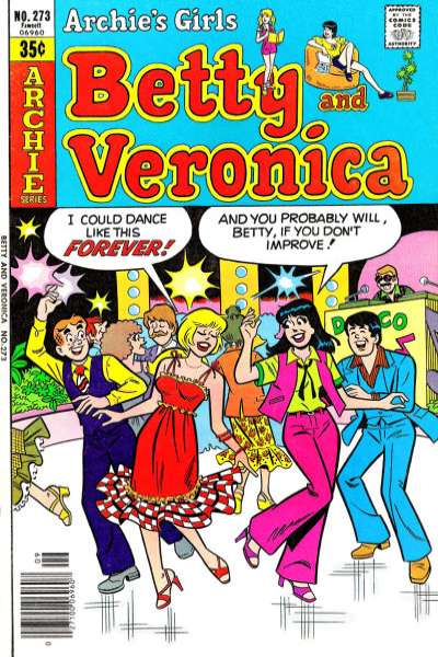 Archie's Girls: Betty and Veronica #273 comic books for sale