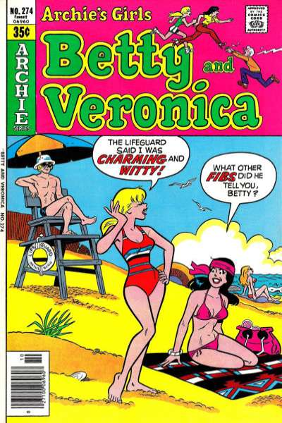 Archie's Girls: Betty and Veronica #274 comic books for sale