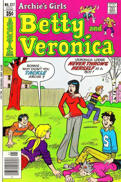 Archie's Girls: Betty and Veronica #277 comic books for sale