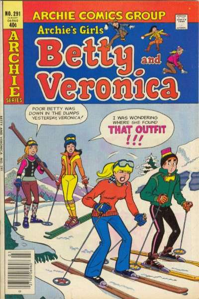 Archie's Girls: Betty and Veronica #291 Comic Books - Covers, Scans, Photos  in Archie's Girls: Betty and Veronica Comic Books - Covers, Scans, Gallery