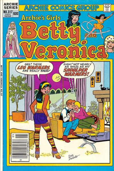 Archie's Girls: Betty and Veronica #319 Comic Books - Covers, Scans, Photos  in Archie's Girls: Betty and Veronica Comic Books - Covers, Scans, Gallery