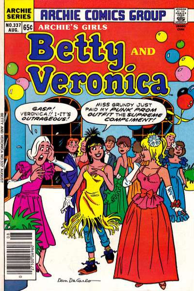 Archie's Girls: Betty and Veronica #337 comic books for sale