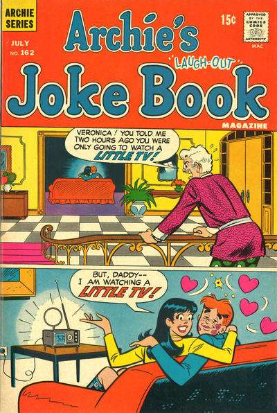 Archie's Joke Book Magazine #162 comic books - cover scans photos Archie's Joke Book Magazine #162 comic books - covers, picture gallery